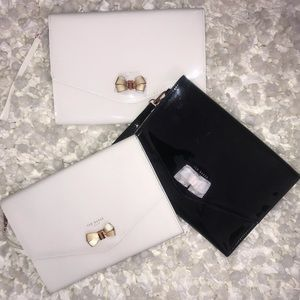 Ted Baker Luanne Bow Envelope Pouch NEW